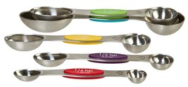 Prepworks by Progressive Snap Fit Measuring Spoons, Stainless Steel - Se... - $16.50