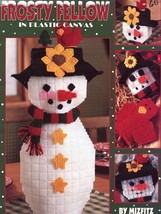 Frosty Fellow 9 Designs Table Decorations Plastic Canvas Pattern Booklet - $4.47