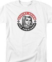 DC Comics Harley Quinn for President Tee Suicide Squad Joker Batman BM2670 image 3