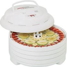 Nesco FD-1040 Gardenmaster Food Dehydrator, White, 1000-watt - MADE IN USA - £68.47 GBP