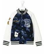 Polo Ralph Lauren Boys Blue Camo Letterman Tigers Football Jacket XL 18-... - $140.11