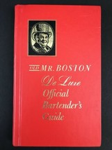 Old Mr Boston De Luxe Official Bartender's Guide Liquor Drink Recipes 19... - $8.90