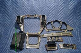01-07 Toyota Highlander Woodgrain Dash Trim Kit Vents Console 8pc image 7