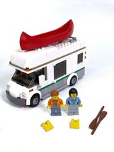 Lego 60057 Camper Van With Canoe And Minifigurines - 100% Complete Set N... - $29.39