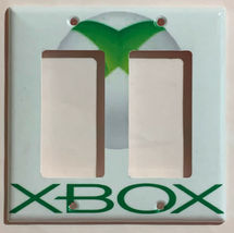 XBox green logo Switch Outlet Toggle & more Wall Cover Plate Home decor image 9