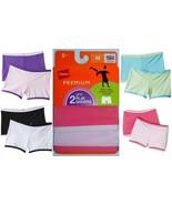 Hanes Girls Premium 2-Pack Play Shorts, Short Tights, Undershorts, Sizes... - $6.29
