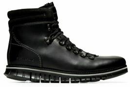COLE HAAN ZEROGRAND Men's Black Waterproof Hiker Boots Size 8.5, C30403 - $109.99