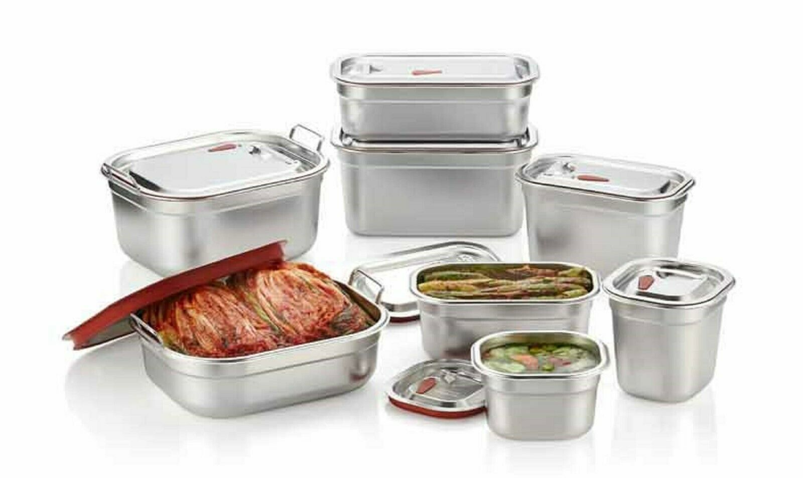Characin Stainless Steel Airtight Food Storage Container Sealing Leak Proof