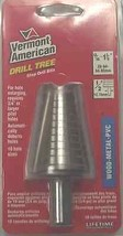 """Vermont American 13380 13/16"""" to 1-3/8"""" Step Drill Bit  - $23.76"""