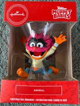 Hallmark Disney Junior Muppet Babies ANIMAL Red Box 2020 Christmas Ornam... - $16.82