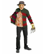 Men's Freddy Krueger Chest of Souls Halloween Costume Kit with Hat and Mask - £46.05 GBP