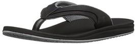 Balance Men's Recharge Thong Sandal, Black/Grey, 10 D US - $65.56 CAD