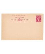 Seychelles Postal Stationery Card UPU 4c H&G 1 1890 Unused - £3.94 GBP