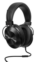 Pioneer High res Sealed dynamic stereo headphone SE-MS5T-K???Black) - $112.53