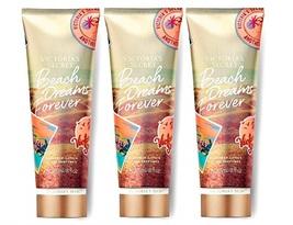Victoria's Secret Beach Dreams Forever Fragrance Lotion - Coconut Sands x3 - £31.25 GBP