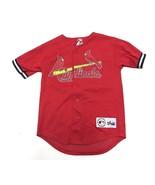 Majestic MLB St. Louis Cardinals Mark McGwire #25 Baseball Jersey Youth ... - $34.60