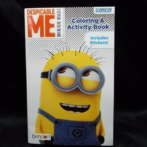Despicable Me Coloring and Activity Book with Stickers Minion Made - $5.99