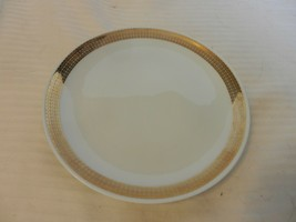 """Winterling Roslau Bavaria China White With Gold Salad Plate 7.75"""" Diameter - $18.56"""