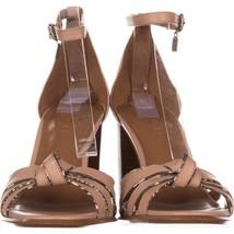 Coach Kiki Ankle-Strap Dress Sandals 347, Beechwood/Black/White, 8.5 US ... - $49.91
