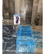 12 My Cool Slim Wraps By Freeze Fat Fast & Large Gel Packs New Cold Toning Lot - $130.90