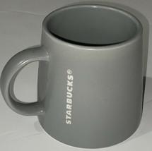 Starbucks Matte Slate Gray 16 oz Coffee Cup Mug 2013 Tapered Wide Base E... - $15.74