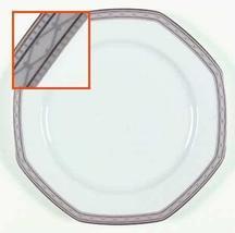"Mikasa Tudor Row Octagon Shaped Salad Plate 8"" - $15.35"