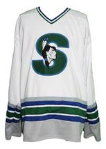 Any Name Number Springfield Indians Retro Hockey Jersey Humeniuk Any Size image 1