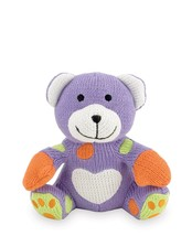 Rich Frog Sitting K'NIT Bear Knit Doll for Baby, Multi-Colored Stuffed A... - $9.34