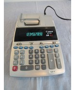 Canon MP18D Professional Desktop Electronic Printing Calculator Adding M... - $28.74