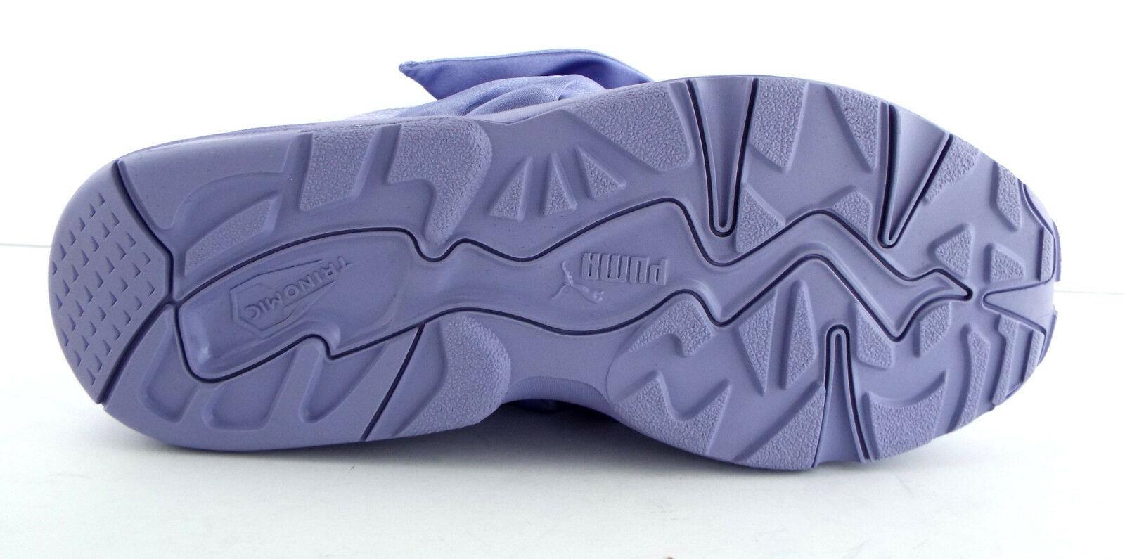 New PUMA RIHANNA Size 9 FENTY Purple Satin Bow Sneakers Shoes image 8