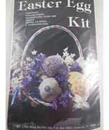 """Easter Egg Kit ... makes 4"""" styrofoam egg - $16.82"""