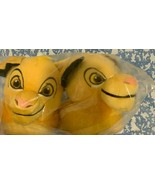 Disney Store Simba Plush Slippers for Kids New with tag - $13.08