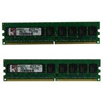Kingston 2GB (2x1GB) KD6502-ELG 2Rx8 PC2-5300 (DDR2-667) 667MHz ECC 240 Pin 1.8V