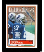 1983 TOPPS #73 BOBBY WATKINS EXMT LIONS  *X4571 - $1.73