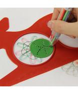 XUES® 1PC/SET Hot Magic Turtle Rabbit Sketchpad Spirograph Drawing Kids - $1.08