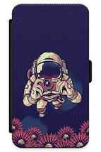 iPhone 6 Plus Case Space Tourist   Synthetic Leather Wallet Flip Card Sl... - $8.77