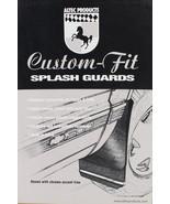 94-01 Dodge Ram W/O Chrome Trim Rear Mud Flap Splash Guards USA Made - $23.55