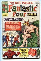 Fantastic Four Annual #1 Spider-Man appears-1963-Marvel Comic Book - $194.00