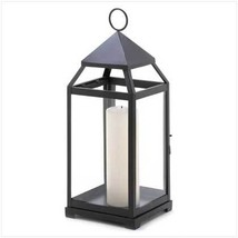 Large Contemporary Candle Lantern - $37.84