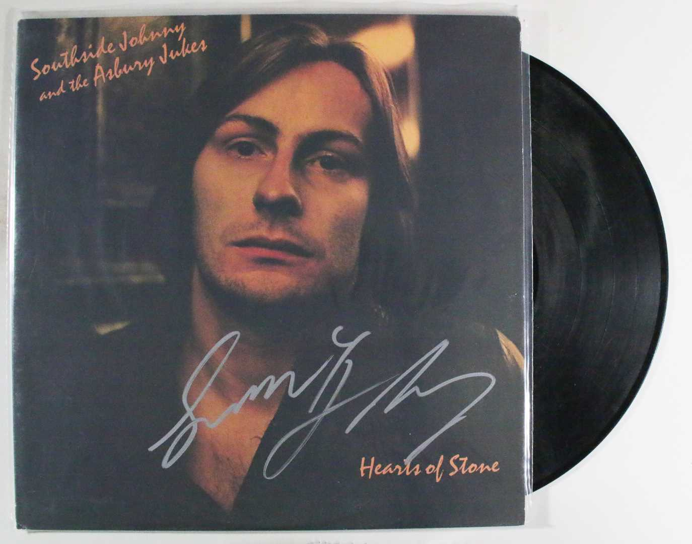 "Primary image for Southside Johnny Signed Autographed ""Hearts of Stone"" Record Album"