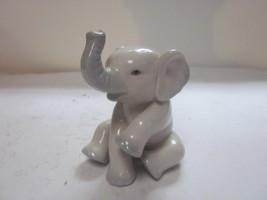 VINTAGE PRINCETON GALLERY BY LENOX SITTING ELEPHANT FIGURINE  - $9.99