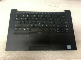 "Dell Latitude 7490 14"" Palmrest Touchpad US Keyboard DJHRD - $37.62"