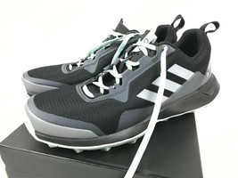 New Women's ADIDAS Terrex CMTK Trail Running Sneaker Shoes Black Aqua Va... - $42.46