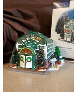 Dept 56 Original Snow Village 1998 THE SECRET GARDEN GREENHOUSE 54949 Re... - $49.95