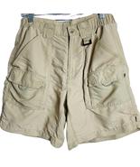 Columbia Mens PFG Shorts  Ivory Tan Size Medium - $23.00