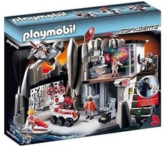 Playmobil #4875 Secret Agent Headquarters New Sealed - $327.25