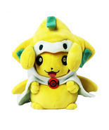 "NEW Pikachu Cosplay Jirachi Stuffed Dolls Cute Gift Plush Toys 8"" 20CM Hot  - £19.74 GBP"