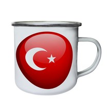 Turkey Flag Brand Ball New Gift Retro,Tin, Enamel 10oz Mug g245e - $13.13