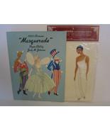"""Masquerade"" & ""Princess ZAHRINA"" 2 Uncut Lovely Paper Dolls by Judy M. ... - $16.00"