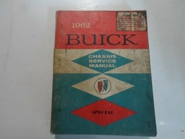 1962 Buick special chassis service shop manual repair damaged spine stained - $25.63